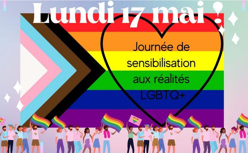 17 mai : LGBTQ+, avec cœur